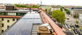 солнечные электростанции в Мюнхене