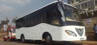 автобус на солнечных батареях в Уганде