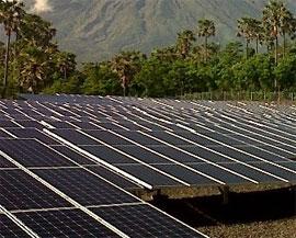 развитие солнечной энергетики в Индонезии