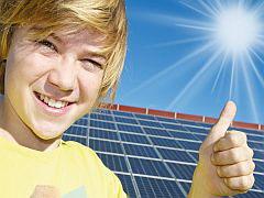 солнечная электростанция для внуков