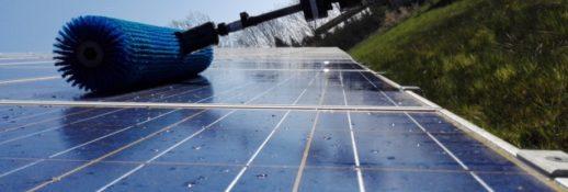 мойка солнечных электростанций