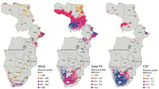 Africa-maps