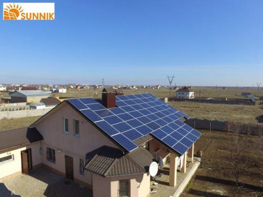 Крышная солнечная электростанция Николаев