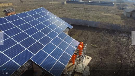 монтаж_солнечная электростанция_Николаев