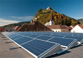 Развитие солнечной энергетики в Австрии