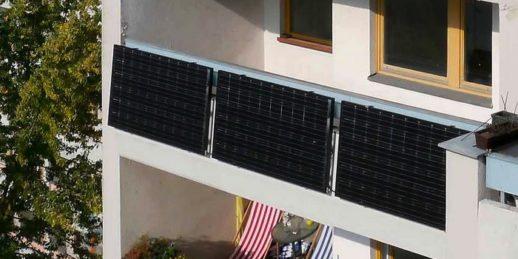 Балконные солнечные электростанции