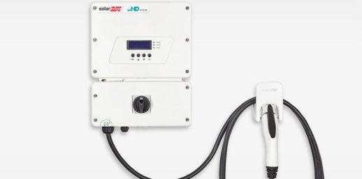 Solaredge_инвертор с зарядным устройством