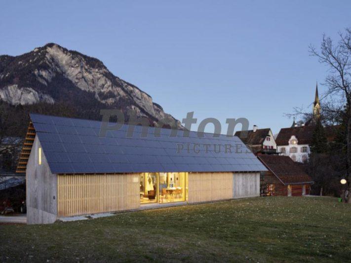 солнечная крыша_Швейцария