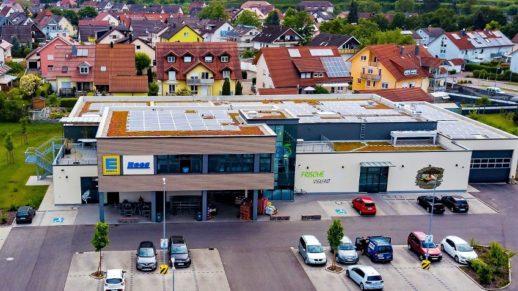 Супермаркеты сети Edeka в Германии переходят на солнечную электроэнергию