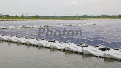 Сингапур_плавучая солнечная электростанция