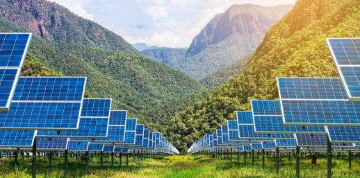китай солненые электростанции