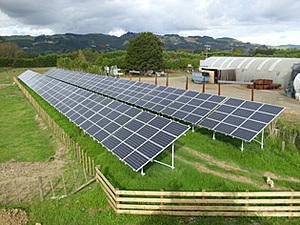 Новая Зеландия_солнечная электростанция