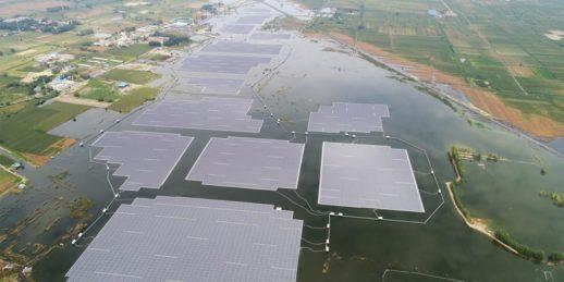 Плавучая солнечная электростанция_Китай