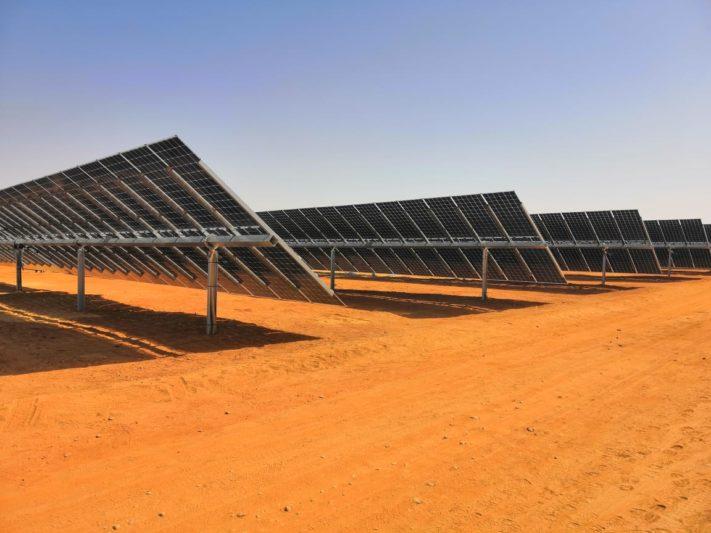 солнечная электростанция_Египет