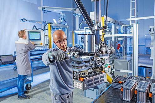 производство аккумуляторов в Германии