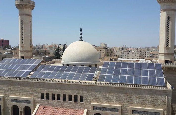 мечеть_солнечная электростанция Иордания