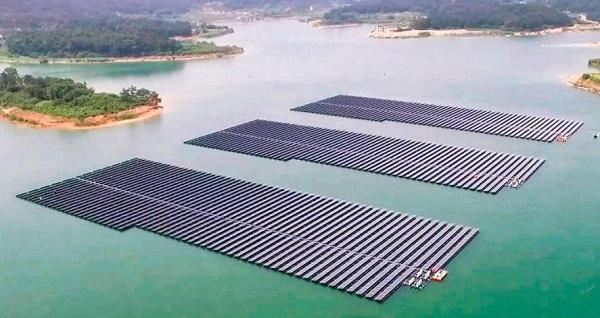 Южная Корея_плавучая солнечная электростанция