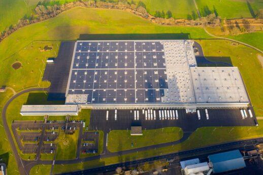 Альди в Швейцарии_солнечная электростанция