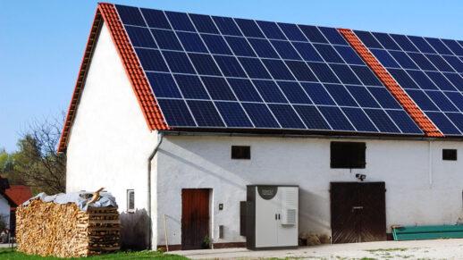Фермерское хозяйство_солнечная электростанция и система хранения электроэнергии