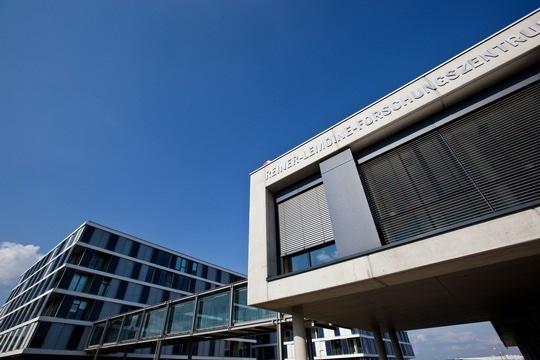 Reiner Lemoine research center Thalheim, exterior view