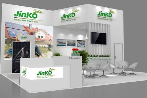 Solarex-Fair-istanbul-tuyap-Jinko-China-company-stand-design1