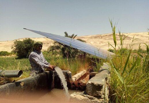 Solar irrigation Egypt