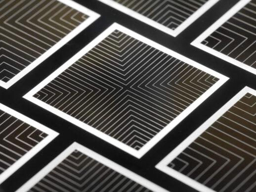 Die TOPCoRE Solarzelle erzielte mit 26 Prozent Wirkungsgrad einen neuen Weltrekord für beidseitig kontaktierte Solarzellen.