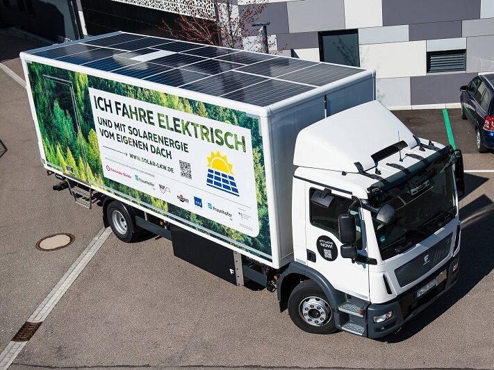 FraunhoferISE_PV_E-LKW_F_vollintegrierte_Photovoltaik